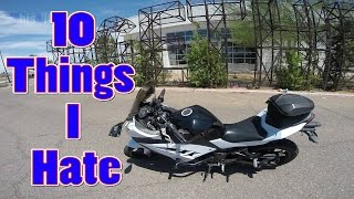 10 Things I Hate About The Ninja 300
