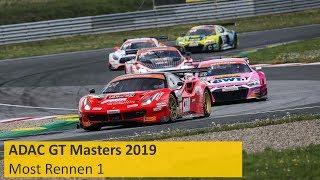 ADAC GT Masters Rennen 1 Most 2019 Deutsch Re-Live