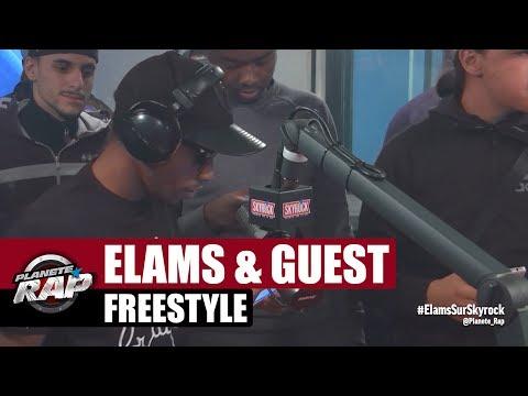 Gros freestyle de Elams & Guest dans Planète Rap
