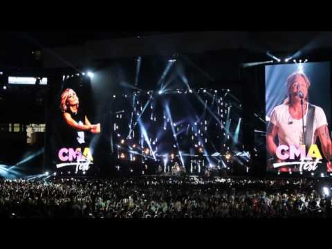 Keith Urban - The Fighter - CMA Fest 2017