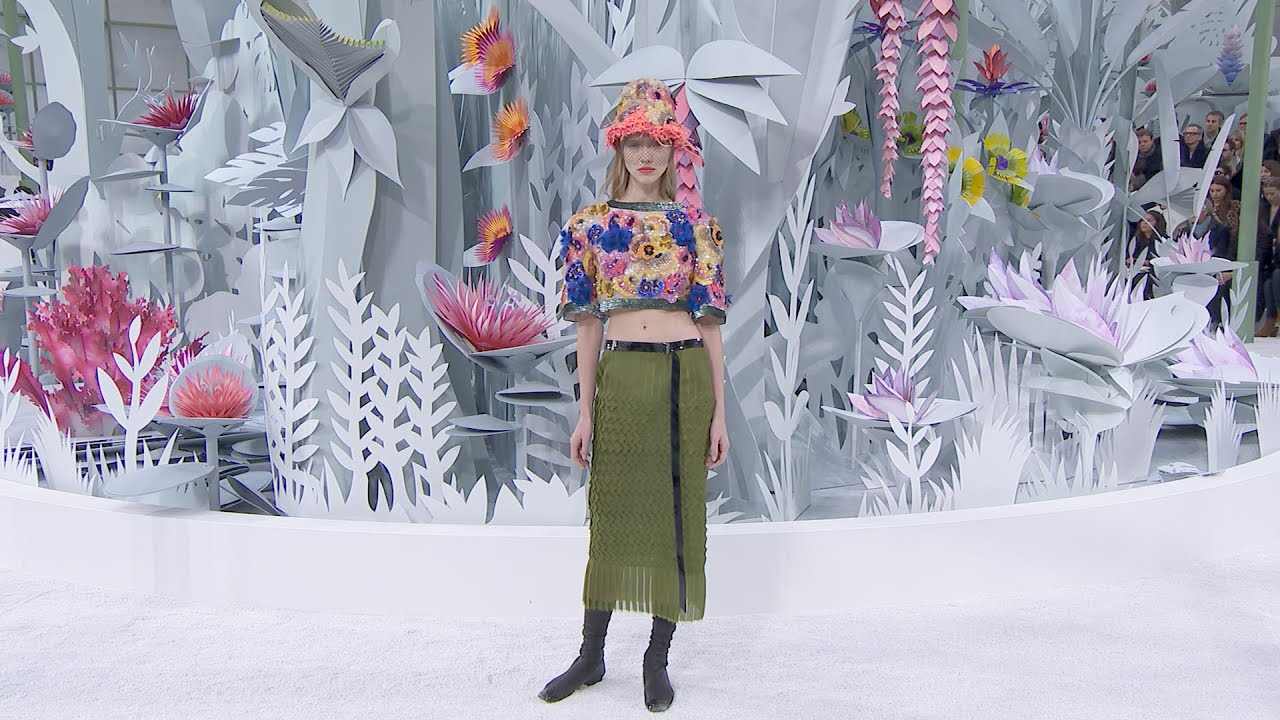 spring summer 2015 haute couture chanel show youtube