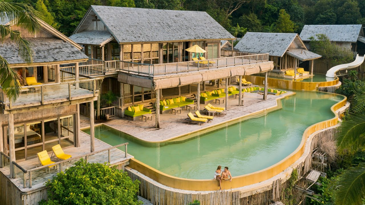SONEVA KIRI: best luxury hotel in the world - full tour (Thailand)