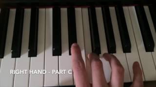 Down Marian Hill Piano Tutorial BODO