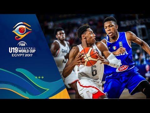 Canada vs Italy - Condensed Game - Final - FIBA U19 Basketball World Cup 2017