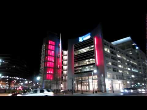Light Effects - Discovery Channel Headquarters Building, Silver Spring Maryland