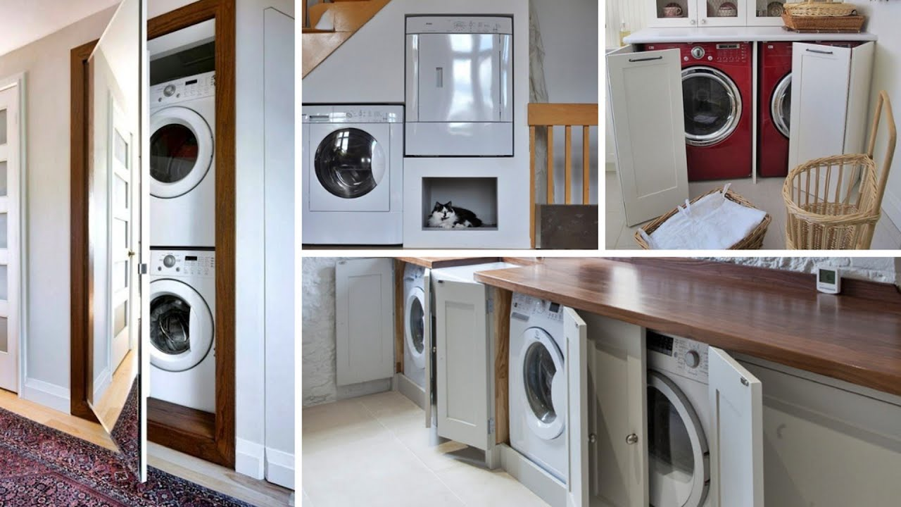 9 Creative Ways To Hide A Washing Machine In Your Home