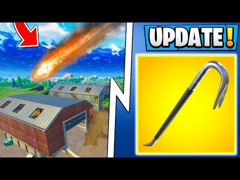 *ALL* Fortnite 5.4 Info!   Dusty Depot Meteor, New Map, Delayed Release! ( Update )