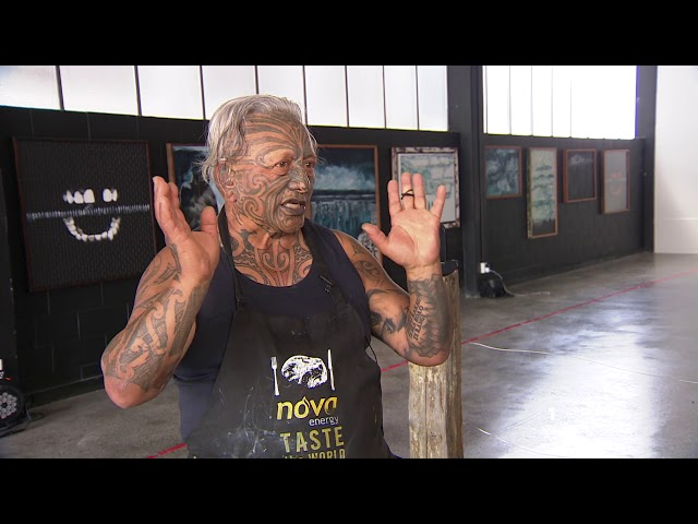Trespassers will be eaten: Tame Iti explores history between Tūhoe and Crown through art