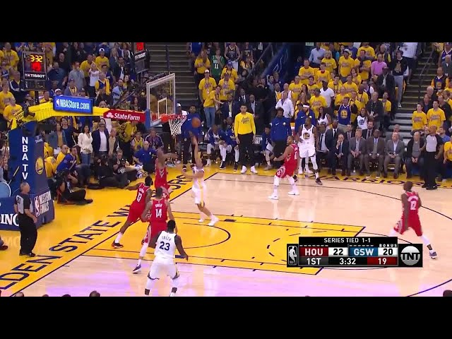 1st Quarter, One Box Video: Golden State Warriors vs. Houston Rockets