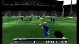 Zinédine Zidane - Fifa 09 long shot goal