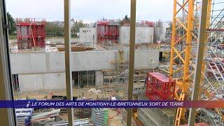 Yvelines | Le forum des arts de Montigny-le-Bretonneux sort de terre