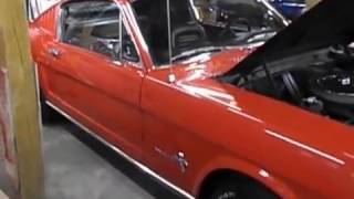 1965 MUSTANG FASTBACK 289 AUTO FOR SALE AT 500 CLASSIC AUTO