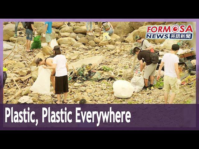 Volunteers wage unending war against trash on beaches