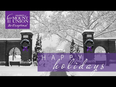 Happy Holidays from the University of Mount Union – 2019