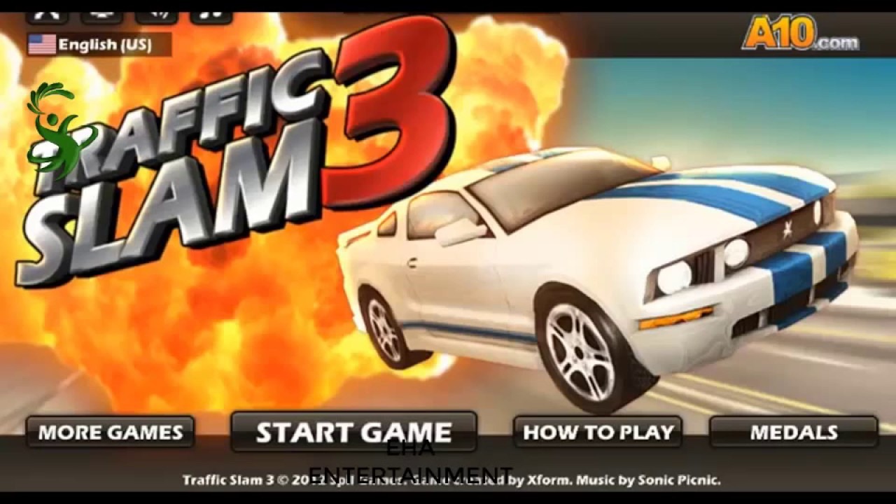Cool Math Games Part 2 Of Traffic Slam 3 Car Crashing Game 3D Math Games