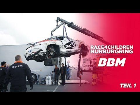 AUTSCH - So war das nicht geplant... | Race4Children Porsche Sports Cup Teil 1 by BBM