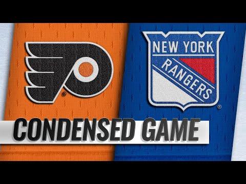 Обзор матча «Нью-Йорк Рейнджерс» — «Филадельфия Флайерз»