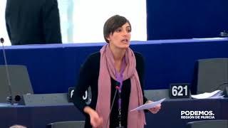 Lola Sánchez pregunta por al Parlamento Europeo por el Soterramiento
