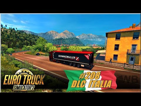 """Euro Truck Simulator 2 - #208 """"DLC ITALIA"""""""
