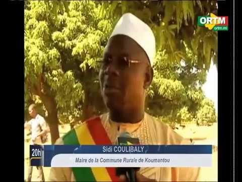 Inauguration d'UDUMA MALI sur la commune de Koumantou (ORTM, Mali)
