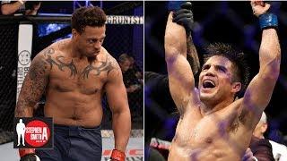 Brett Okamoto on UFC Fight Night 143, Conor McGregor and Greg Hardy | Stephen A. Smith Show thumbnail