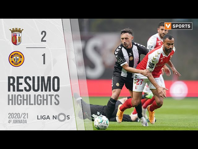 Highlights | Resumo: SC Braga 2-1 CD Nacional (Liga 20/21 #4)