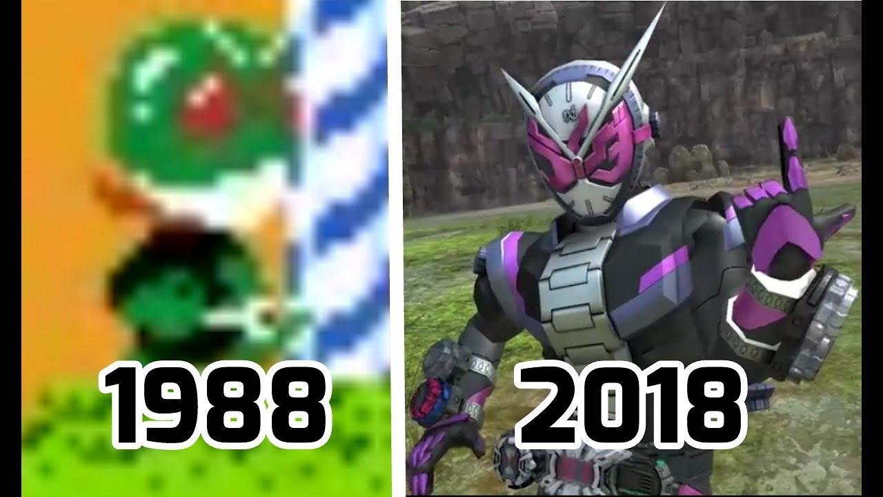 EVOLUTION - Kamen Rider 1988-2018