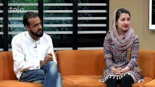بامداد خوش - سینما - صحبت های امید احمد و عاطفه بازیگران در سریال خط سوم