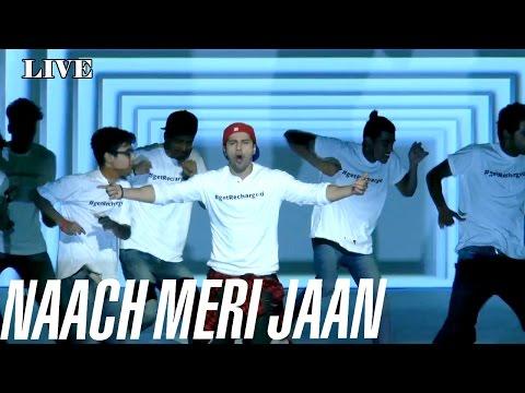 Watch: Varun Dhawan | Live Performance On Naach Meri Jaan  | ABCD 2