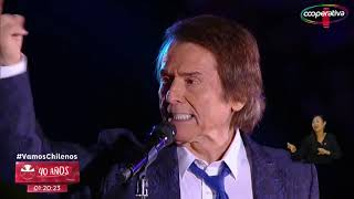 El cantante español, Raphael, se presentó en el Estadio Nacional y ...