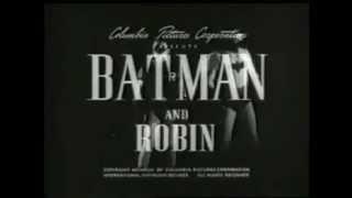 Batman and Robin Serial 1949