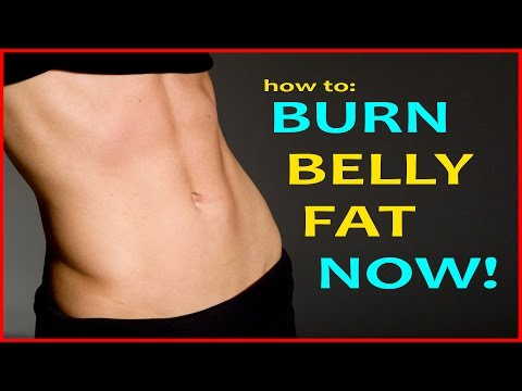 10 Ways To Burn Belly Fat & Lose Belly Bloat