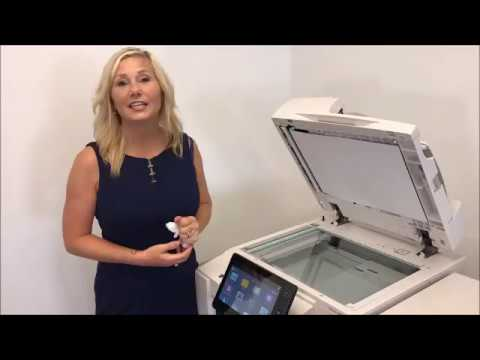 AltaLink 8000 - How to Clean Platen Glass