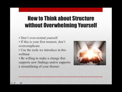 Structure: The Backbone of Your Memoir