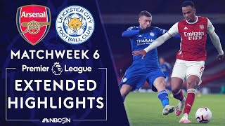 Jamie vardy's late header was enough to propel the foxes all three points against arsenal at emirates. #nbcsports #premierleague #arsenal #leicesterci...