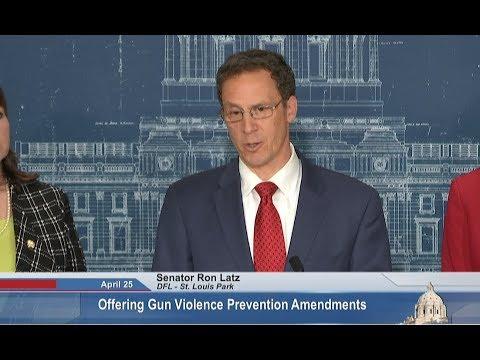 MN Senator Proposes To Break Gun Bill Log Jam - Full News Conference