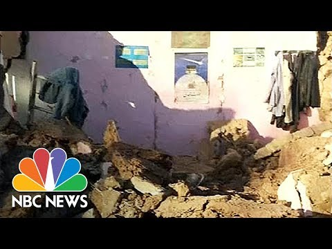 Magnitude 6.0 Earthquake Flattens Homes In Iran's Kerman Province | NBC News