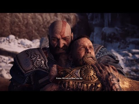 Kratos And Atreus Last Fight with Baldur - Final Boss