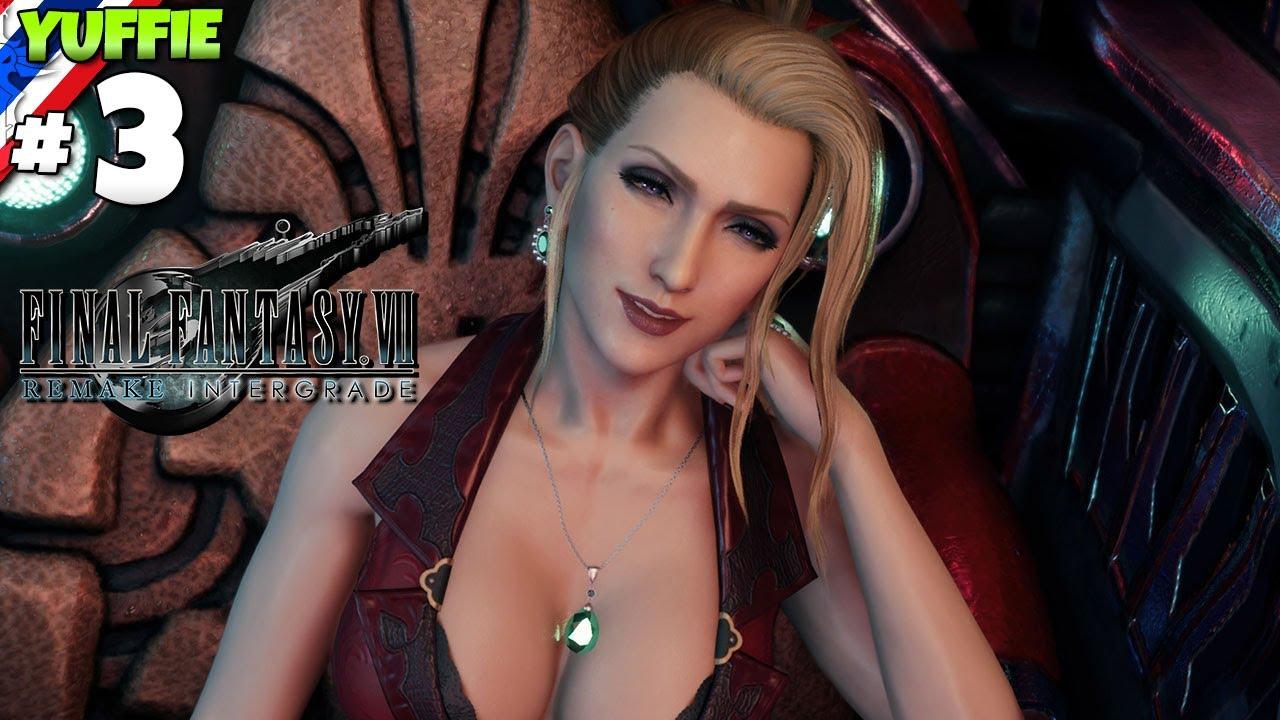 Final Fantasy VII: Yuffie #3 สีแดงแรง 3 เท่า