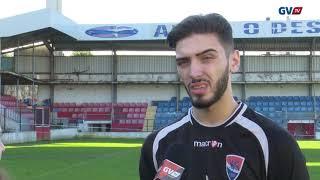 Sub-19: Brian Araújo em antevisão ao jogo com o SC Braga