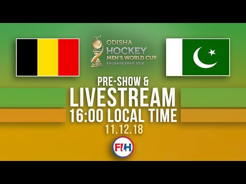 Belgium v Pakistan | 2018 Men's Hockey World Cup | FULL MATCH LIVESTREAM