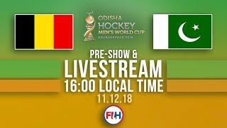 Belgium v Pakistan   2018 Men's Hockey World Cup   FULL MATCH LIVESTREAM