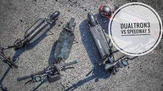 Speedway 5 vs Dualtron 3, laquelle tu prends?
