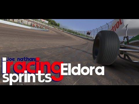 iRacing Dirt : 360 Sprints at Eldora - I can do this too! Sort of...