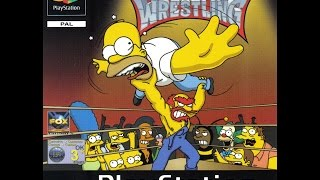 The Simpsons Wrestling (2001) - PS1 Playstation 1 Longplay (Full Game) [002]