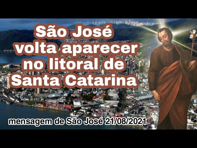 Messaggio di San Giuseppe a Fratel Eduardo Ferreira il 21 agosto 2021 a Itajaí, SC, Brasile.