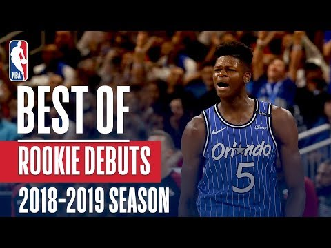The Top Plays From Rookies in Their NBA Debuts (DeAndre Ayton, Luka Doncic, Mo Bamba and More!)