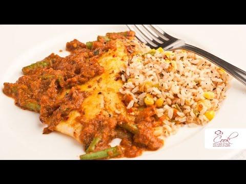 Recipes & More: Tilapia & Brown Rice