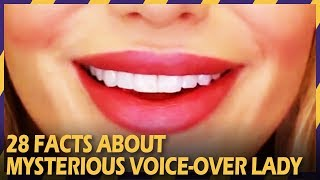 28 FACTS ABOUT MYSTERIOUS VOICE-OVER LADY