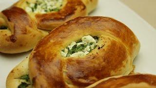 Receta fácil de Pogaca turca - Pan de mantequilla